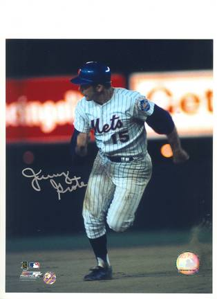 Jerry Grote New York Mets Autographed 8