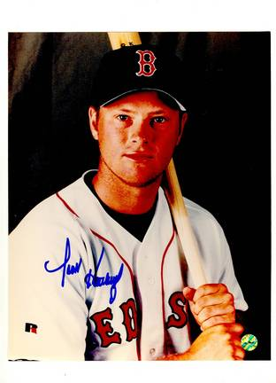 "Scott Hatteberg Boston Red Sox Autographed 8"" x 10"" Photograph (Unframed)"