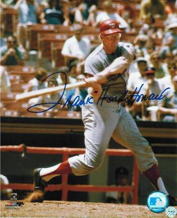"Frank ""Hondo"" Howard Washington Senators Autographed 8"" x 10"" Photograph (Unframed)"