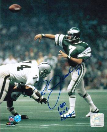 Click here for Ron Jaworski Philadelphia Eagles Autographed View... prices