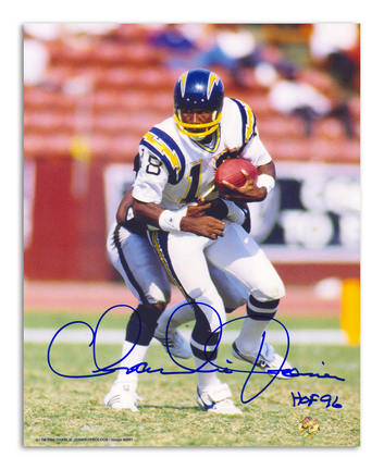 Charlie Joiner Autographed San Diego Chargers 8
