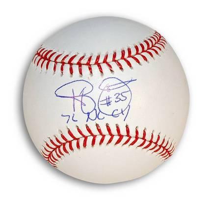 "Randy Jones Autographed MLB Baseball Inscribed ""76 NL CY"""