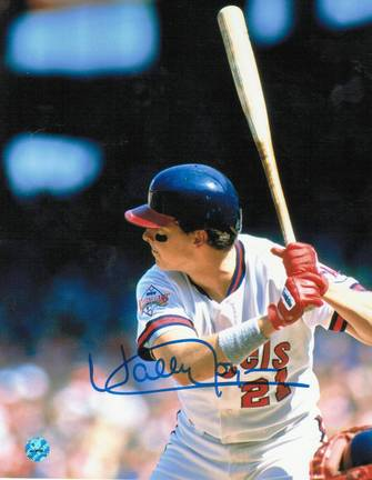"Wally Joyner Autographed ""Batting Stance"" California Angels 8"" x 10"" Photo"