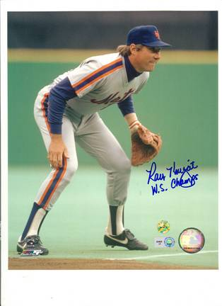 "Ray Knight New York Mets Autographed 8"" x 10"" Photograph Inscribed ""WS Champs"" (Unframed)"