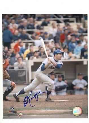 "Ed Kranepool New York Mets Autographed 8"" x 10"" Photograph (Unframed)"