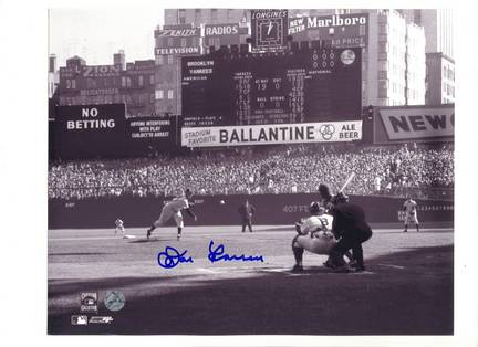 """Don Larsen New York Yankees """"Perfect Game"""" Autographed 8"""" x 10"""" Photograph (Unframed)"""