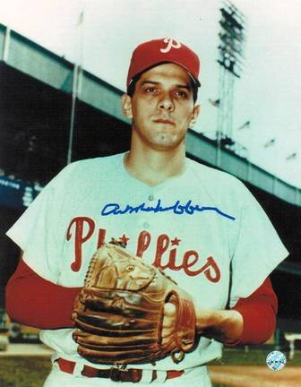 "Art Mahaffey Philadelphia Phillies Autographed 8"""" x 10"""" Unframed Photograph"" APE-MAHAFFEY-ART-8X10"