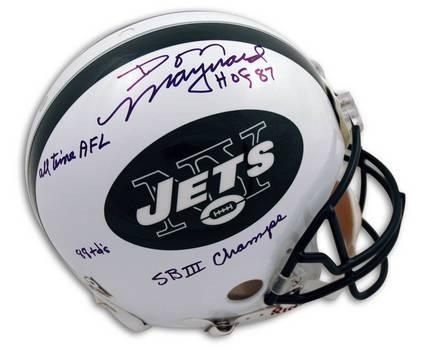 New York Jets Signed Full-sized Helmet e96d5fa75
