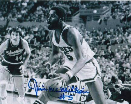 "Jim McMillian Los Angeles Lakers Autographed 8"" x 10"" Unframed Photograph"
