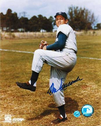 "Don Newcombe Brooklyn Dodgers Autographed 8"" x 10"" Unframed Photograph"