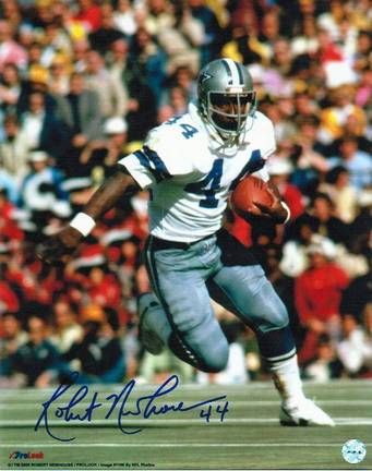 """Robert Newhouse Dallas Cowboys Autographed 8"""" x 10"""" Unframed Photograph"""