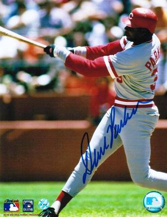 "Dave Parker Cincinnati Reds Autographed 8"" x 10"" Photograph (Unframed)"