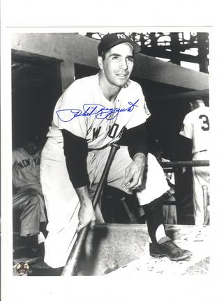 """Phil Rizzuto New York Yankees Autographed 8"""" x 10"""" On Step Photograph (Unframed)"""