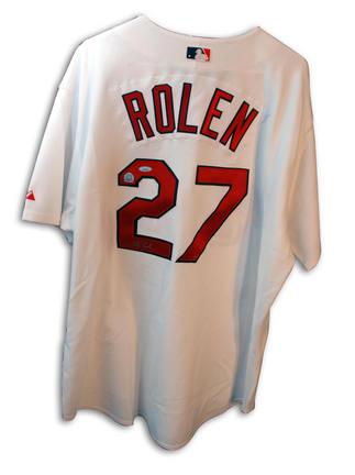 Scott Rolen Autographed St. Louis Cardinals Majestic White Jersey