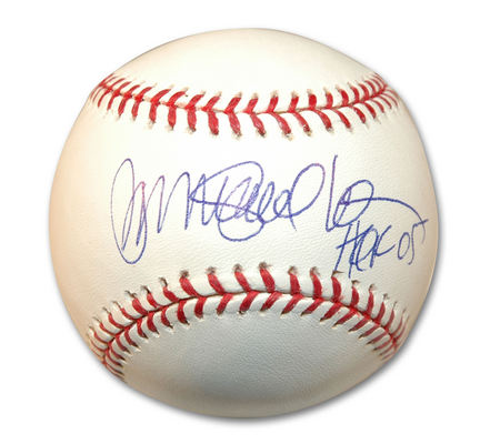 "Ryne Sandberg Autographed MLB Baseball Inscribed with ""HOF 05"""