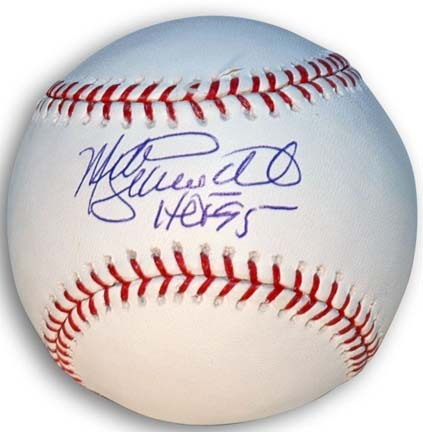 A Certificate of Authenticity is included with this Mike Schmidt...