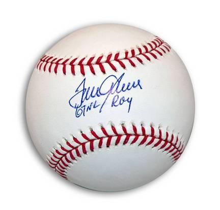 "Tom Seaver Autographed MLB Baseball Inscribed ""67 NL ROY"""