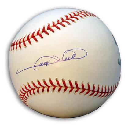 Gary Sheffield Autographed Baseball