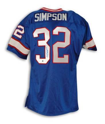 info for 9283b d4609 O.J. Simpson Buffalo Bills Throwback Jersey