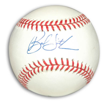 Bud Smith Autographed Baseball