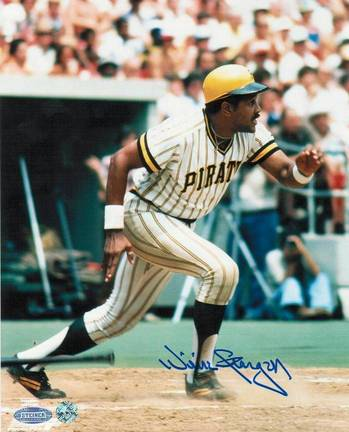 "Willie Stargell Pittsburgh Pirates Autographed 8"" x 10"" Photograph (Unframed)"