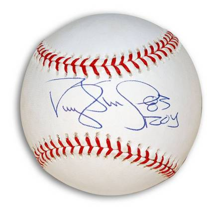 "Darryl Strawberry Autographed MLB Baseball Inscribed ""83 ROY"""