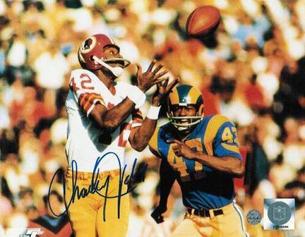 "Charley Taylor Washington Redskins Autographed 8"" x 10"" Unframed Photograph"