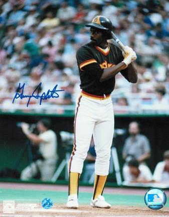 "Garry Templeton Autographed San Diego Padres 8"" x 10"" Photo"