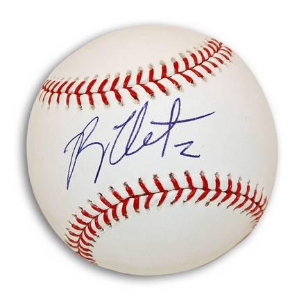 Ryan Theriot Autographed MLB Baseball
