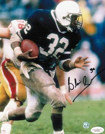 """Blair Thomas Penn State Nittany Lions Autographed 8"""" x 10"""" Photograph (Unframed)"""
