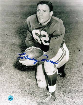 """Charley Trippi Autographed """"On One Knee"""" Chicago Cardinals 8"""" x 10"""" Photo"""