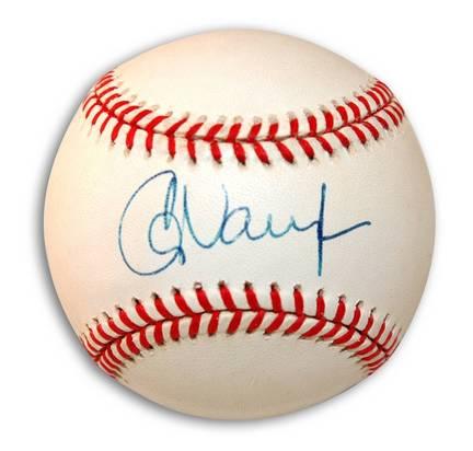 Greg Vaughn Autographed Baseball