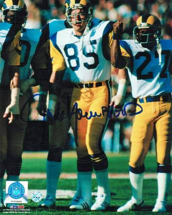 "Jack Youngblood Los Angeles Rams Autographed 8"" x 10"" Unframed Photograph"