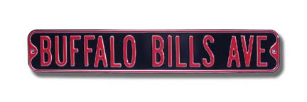 Buffalo Bills Signsatlanta Falcons Themed Football Man