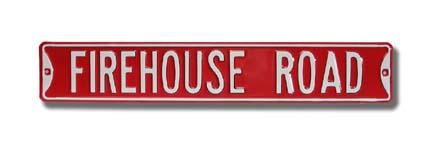 Steel Street Sign: