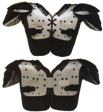 Eliminator Youth Football Shoulder Pads (50-65 lbs.) from All-Star
