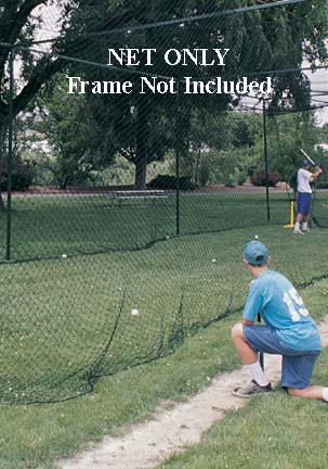 70 ft. Long-Life Batting Cage Net from ATEC