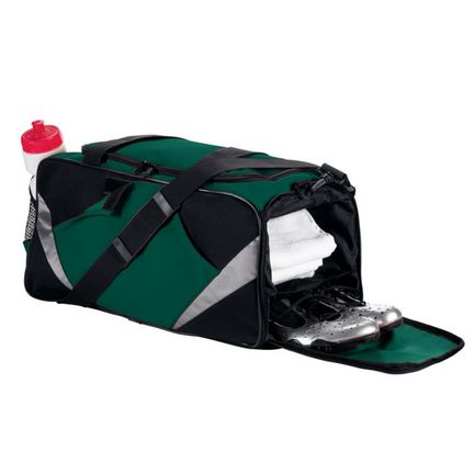 Game Duffel Bag with Shoe Pocket from Augusta Sportswear