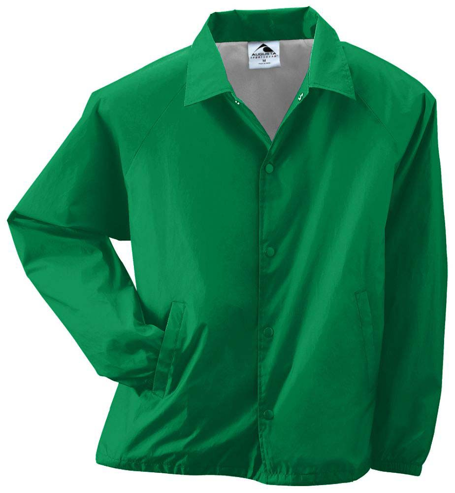 Adult Nylon Coach's Lined Jacket (5X-Large) From Augusta Sportswear