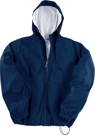 Augusta Youth Flannel Lined Hooded Taffeta Jacket from Augusta Sportswear at Sears.com