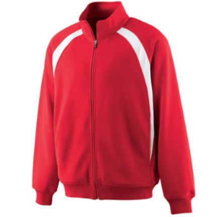 Youth Double Knit Color Block Jacket from Augusta Sportswear AUG-4411