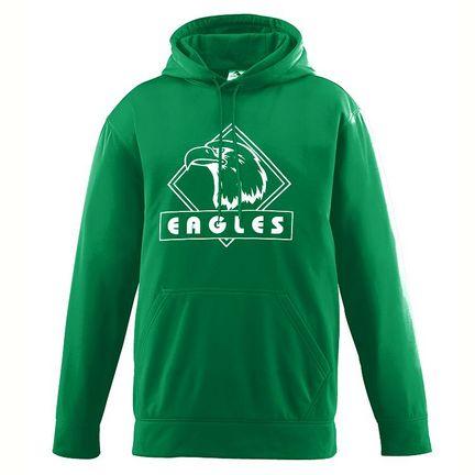 Wicking Fleece Hooded Sweatshirt from Augusta Sportswear (4X-Large)