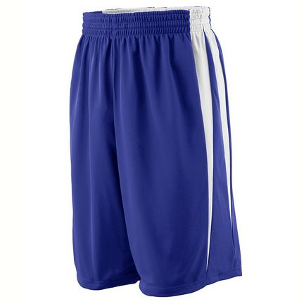 Reversible Wicking Game Basketball Shorts - Youth from Augusta Sportswear