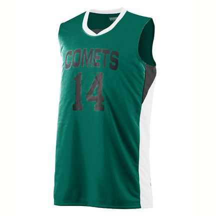 Wicking Duo Knit Game Basketball Jersey / Tank Top from Augusta