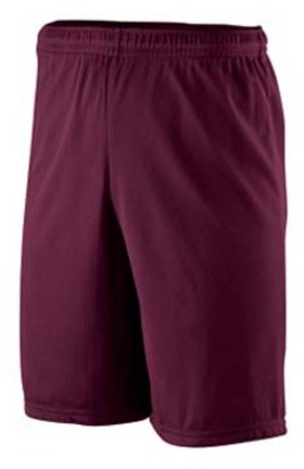 Longer Length Micro Mesh Shorts (3X-Large) from Augusta Sportswear