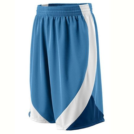 Wicking Duo Knit Basketball Game Shorts from Augusta Sportswear (2X-Large)