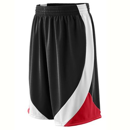 Wicking Duo Knit Basketball Game Shorts - Youth from Augusta Sportswear