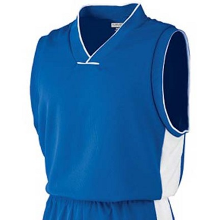 Wicking Mesh Game Basketball Jersey / Tank Top from Augusta Sportswear