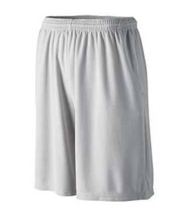 Longer Length Wicking Shorts with Pockets (2X-Large) from Augusta Sportswear
