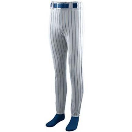 Fourteen-Ounce Striped Baseball Pants from Augusta Sportswear